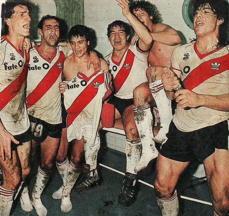 River campeón del mundo 1986