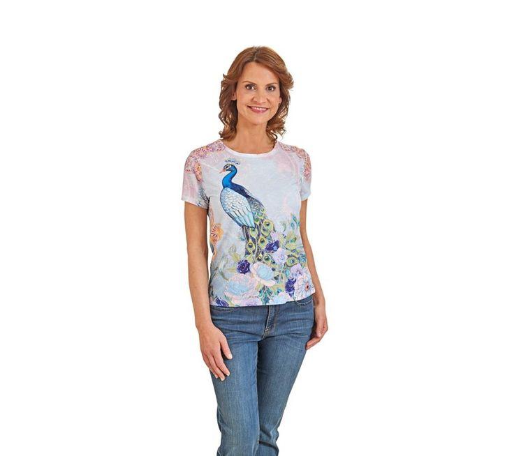 Tričko Páv | vyprodej-slevy.cz #vyprodejslevy #vyprodejslecycz #vyprodejslevy_cz #tshirt