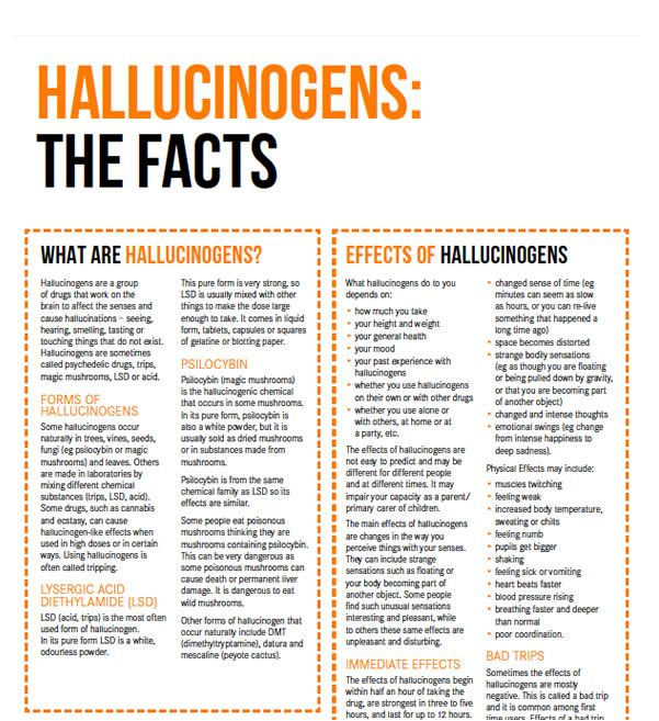 Hallucinogens (LSD, mushrooms) Drug Facts | Your Room. Get  the facts on hallucinogens – the short and long term effects on your body and life, interaction with other drugs, hallucinogen use during pregnancy, tolerance and dependence, withdrawal, driving, the law (in NSW) and telephone numbers for services in every state in Australia. #knowyourdrugfacts