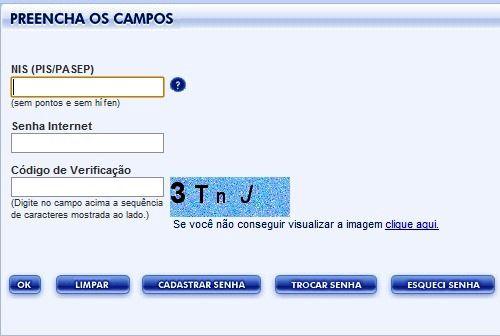 Consultar Saldo PIS Online