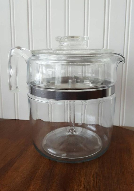 Hey, I found this really awesome Etsy listing at https://www.etsy.com/ca/listing/514378799/pyrex-flameware-coffee-percolator-7759-9