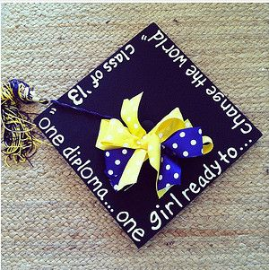 17 best images about graduation cap decoration ideas on for Accounting graduation cap decoration
