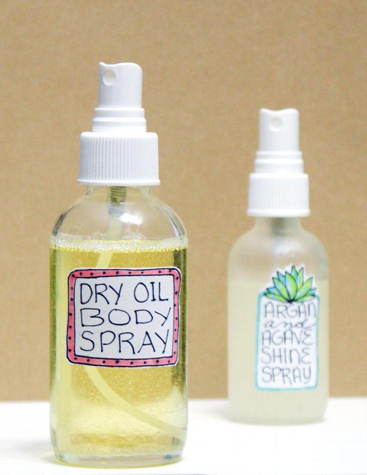 DIY Custom Scented Dry Oil Body Spray Recipe
