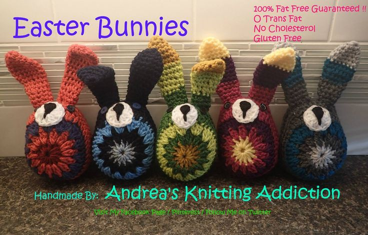 Crocheted Easter Bunnies