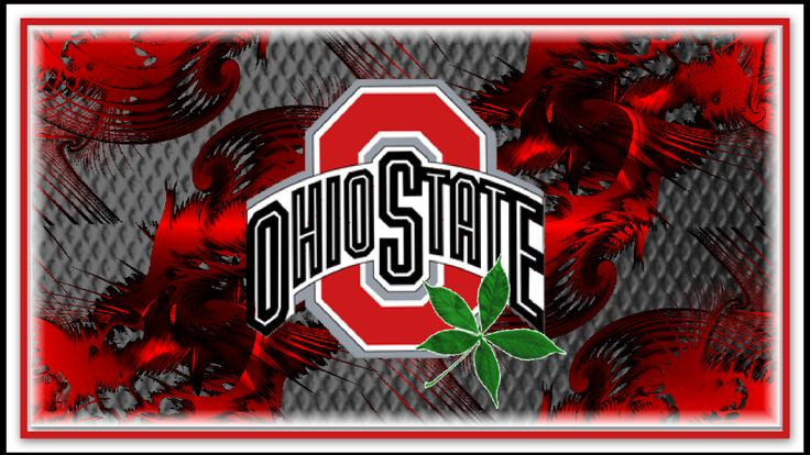 Ohio State Football Wallpaper in Red Block
