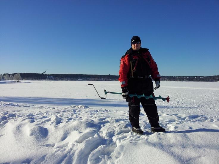 Ice fishing, Lti, Finland