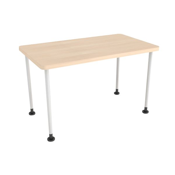 Groupwork Table From Turnstone Steelcase Store 30x60 727 Adj Legs White Home Decor