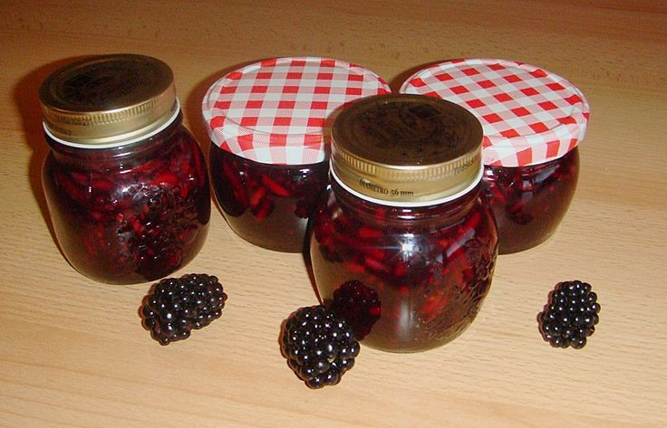 brombeer mandel amaretto marmelade rezept mit bild preserves pickles. Black Bedroom Furniture Sets. Home Design Ideas