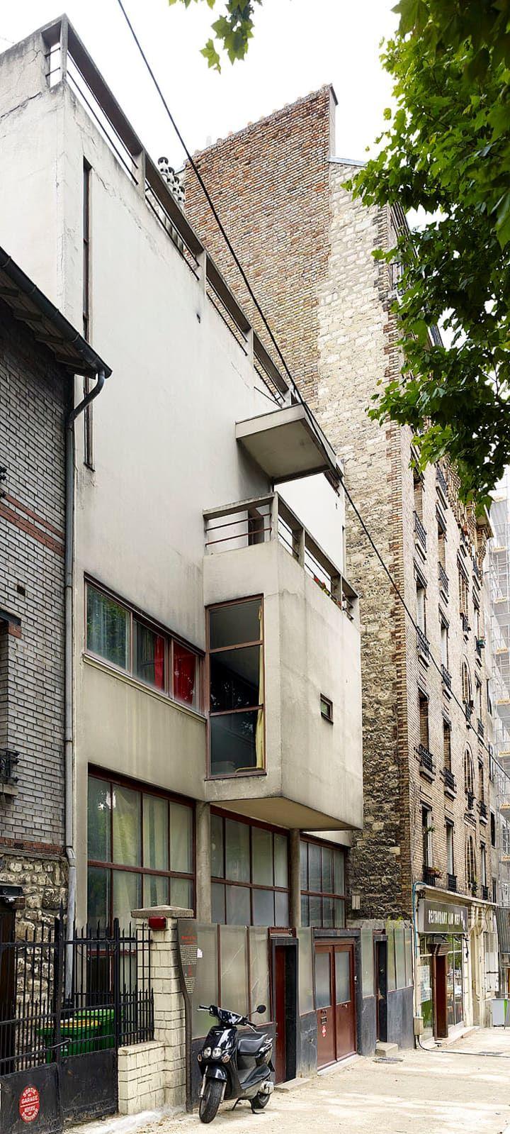 12 best le corbusier maisons jaoul images on pinterest for Architecture le corbusier