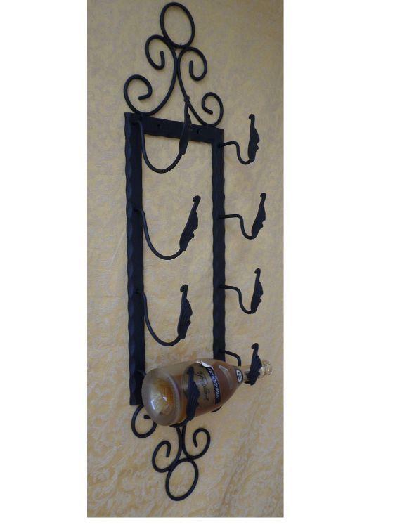 Dettagli su porta bottiglie porta champagne 4 posti in - Portaspezie da parete ...