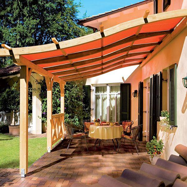 """Pergola """"Toscana"""" - 15m² - 4.29 x 3,50 x 1.97 m"""