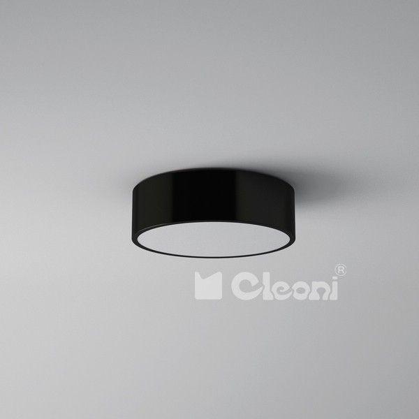 Lampy młodzieżowe Cleoni  Aba 40 Plafon - Cleoni - plafon nowoczesny    #design #teen #lamp #Abanet.pl #Cleoni  1267PB1AT3