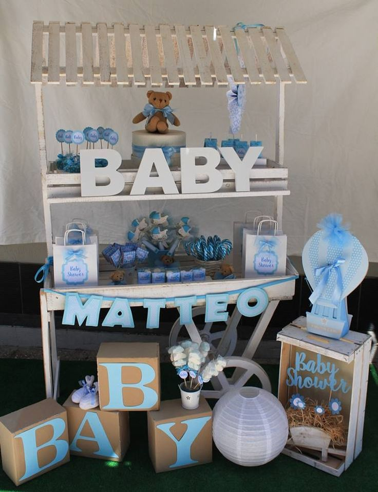 sweet corner per baby shower