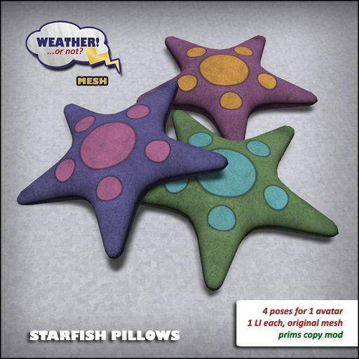 Starfish Pillows | Flickr - Photo Sharing!