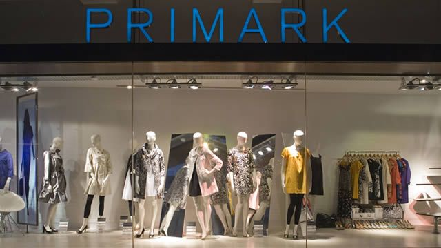 Shopping at Primark on Oxford Street, London.