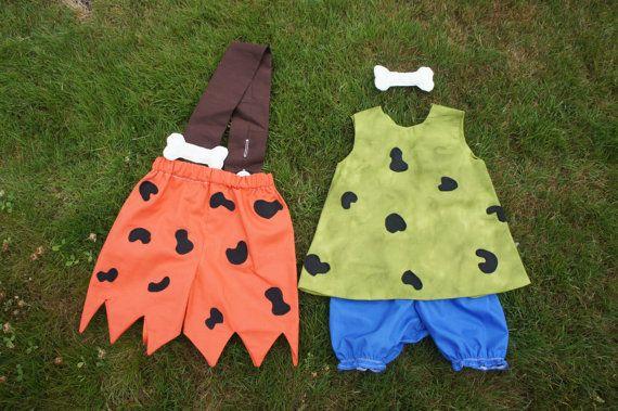 Flinstone Costume Bam Bam & Pebbles by MyPurplePrincessShop, $65.00
