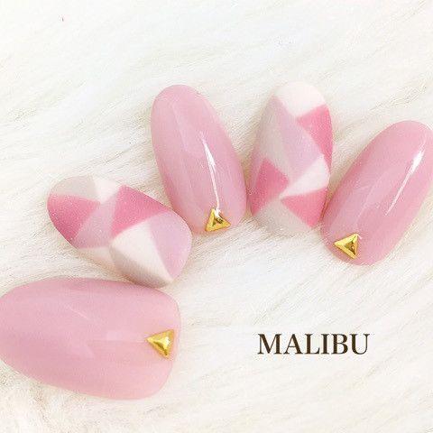 ♡新作♡ピンクモザイクネイル♪ の画像|恵比寿プライベートネイルサロンMALIBU