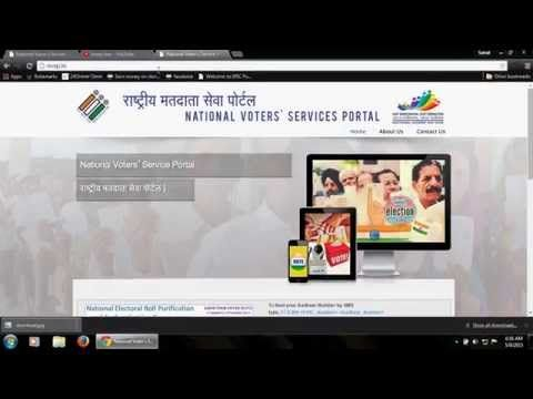 How To Apply Corrections in Voter Card Online - YouTube