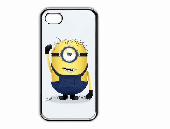 Apple iPhone Case Cute Style Despicable Me Minion  by AmbuRadol, $15.50