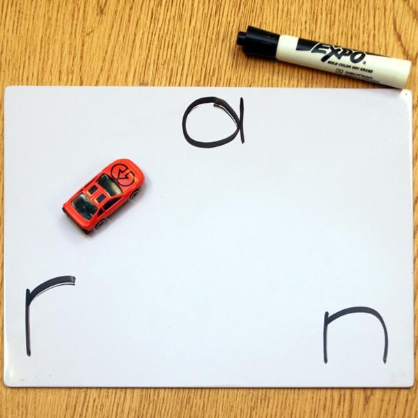 Drive-Thru Blending: This Letter-Sounds and Phonics activity encourages students to practice blending individual sounds to make words. The inclusion of the toy car makes the activity fun, and reinforces the idea that the different sounds in a word blend together. This activity is ideal for students in K-2.