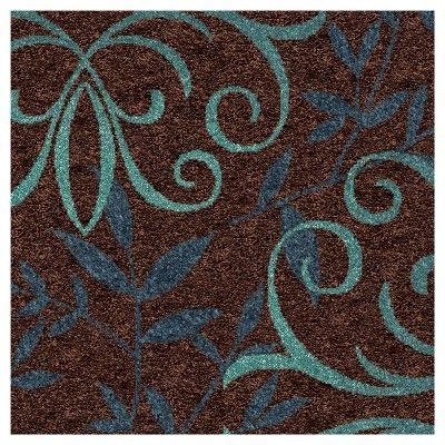 "Orian Rugs Voyager Promise Transitional Area Rug - Brown (5'2"" x 7'6"")"
