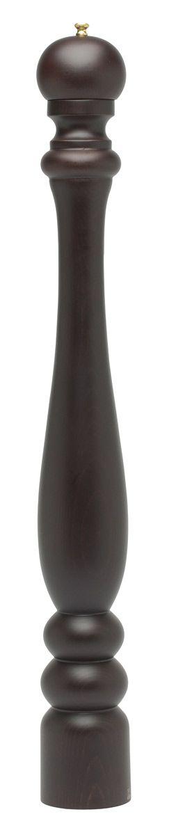 Made in France: de pepermolens van Peugeot. De Peugeot Paris chocolat pepermolen heeft het klassieke Peugeot model, is uitgevoerd in bruin gelakt beukenhout en heeft een hoogte van 80 cm. Het maalwerk in de molen is vervaardigd uit roestvrij staal.