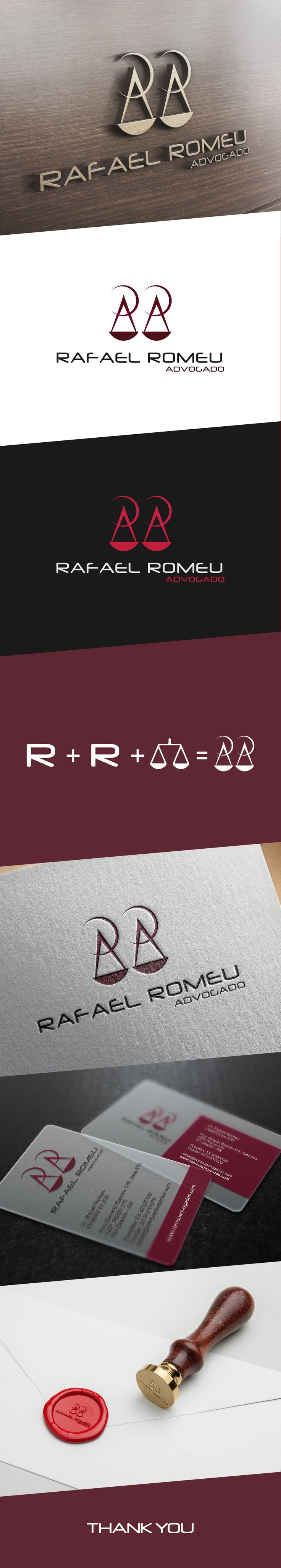Rafael Romeu Advogado - LOGO on Behance