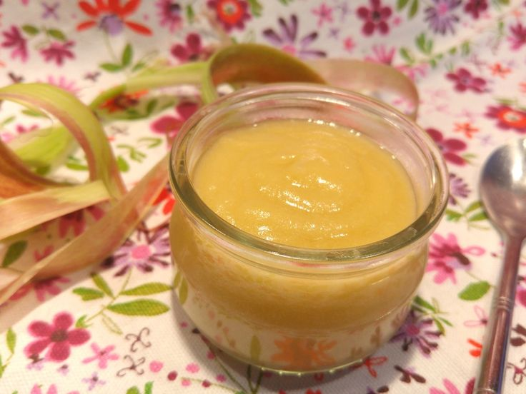 Compote pomme-rhubarbe