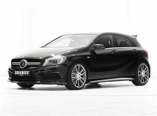blogmotorzone: Mercedes A45 AMG Brabus. Brabus empresa especializada en el tuning de alto rendimiento especializada en las marcas Mercedes, Smarth y la extinta Maybach, tiene un Nuevo miembro en su gama el nuevo Mercedes A45 AMG Brabus.