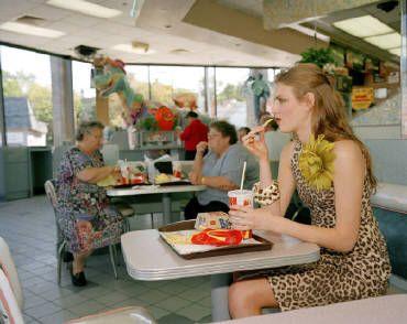 DELI Martin Parr  Junk Space (McDonald's)  1999