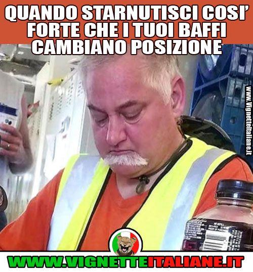 I baffi semoventi  (www.VignetteItaliane.it)