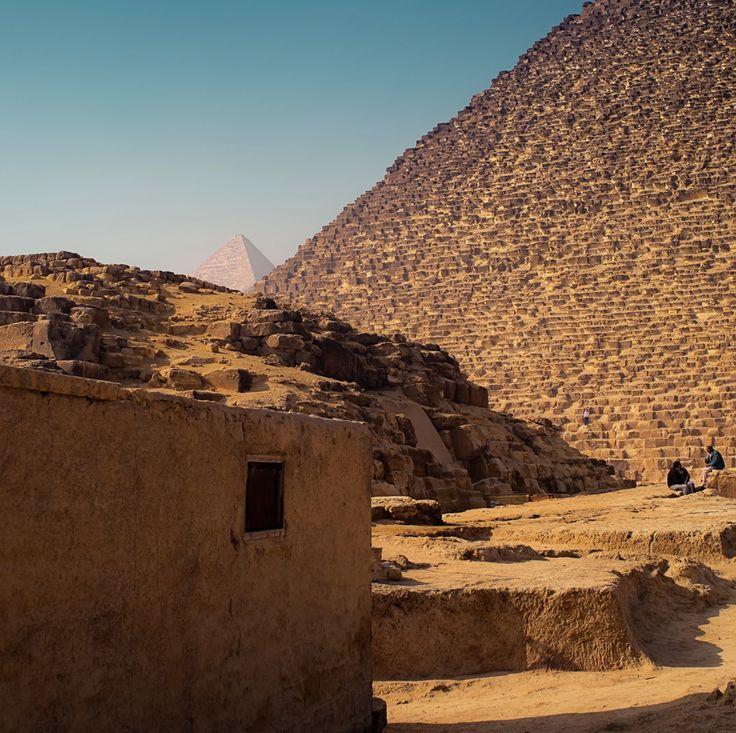10 poze magice cu piramidele și Sfinxul din Egipt