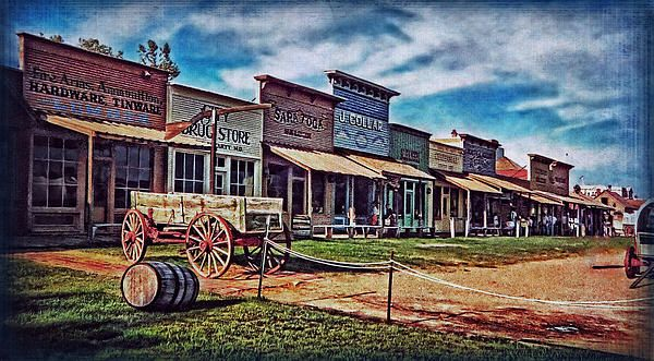 Dodge City Tourist Attraction Western Town Photo By