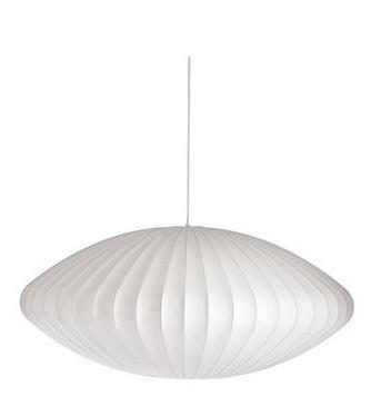 Nelson Saucer Pendant Lamp - Living Room & Master Bedroom.