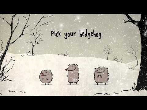 Singing Christmas Hedgehogs from Birdbox Studio - YouTube (heel leuk!!!)