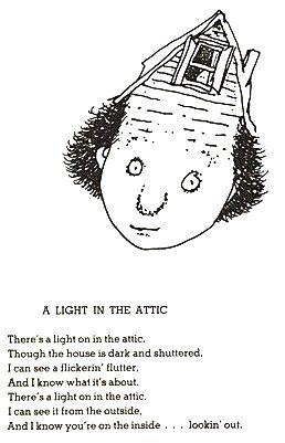 Shel Silverstein A Light In The Attic Poem Shel