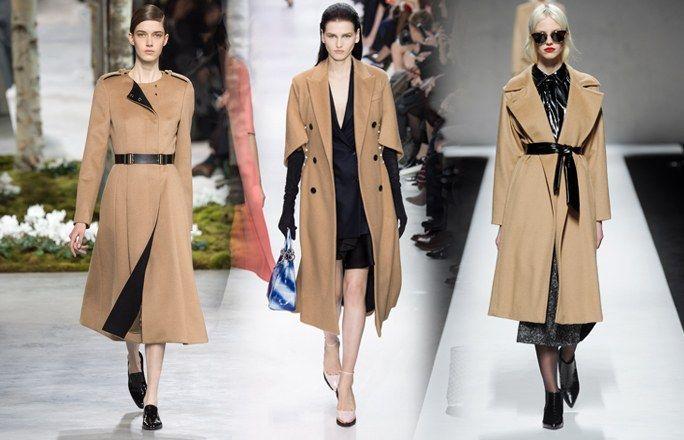 Manteau camel : tendance automne-hiver 2014/2015 - 20 tendances mode automne-hiver 2014/2015