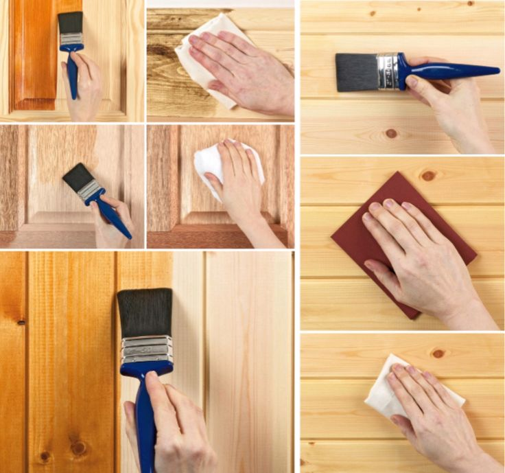 'How to Apply Stain, Varnish, Wax, Dye or Oil to Wood...!' (via DIY)