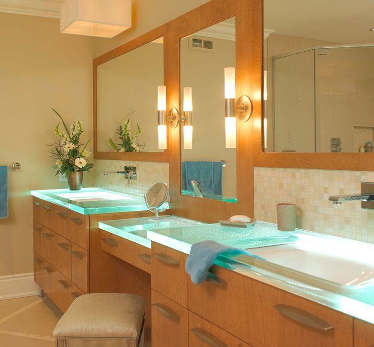 the best countertop for the bathroom glass countertops cannot be stained thinkglass brings our glass art to life in bathroom glass countertops