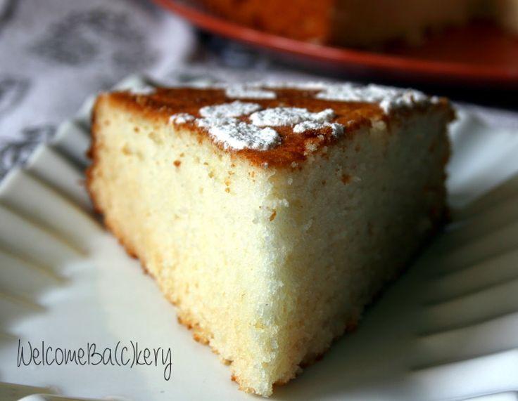 WelcomeBa(c)kery: Torta con albumi e farina di riso (senza burro)