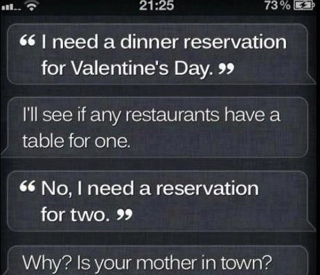 Why wuld Siri say that
