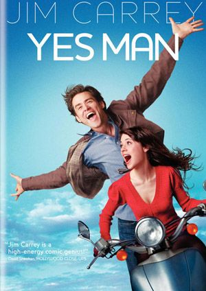 """Yes Man"" starring Zooey Deschanel and Jim Carrey"
