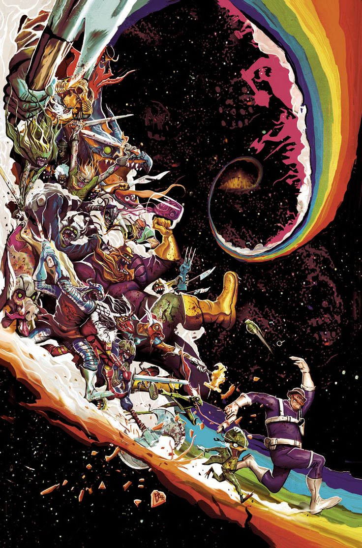 Marvel Zombies Destroy 4 by *Deadlydelmundo