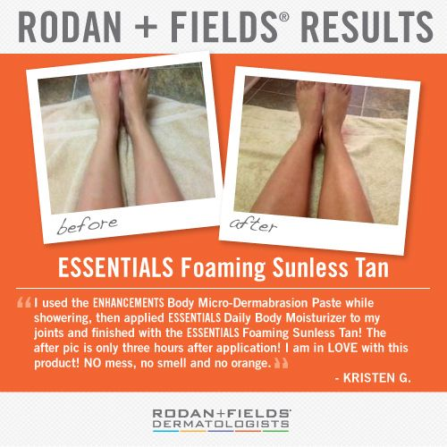 1000 Images About Rodan Fields Sunless Tanner On