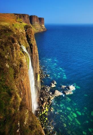 Kilt Rock & Mealt Waterfall - Isle of Skye, Scotland