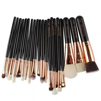 SHARE & Get it FREE | 20 Pcs Goat Hair Face Eye Makeup Brushes SetFor Fashion Lovers only:80,000+ Items·FREE SHIPPING Join Dresslily: Get YOUR $50 NOW!