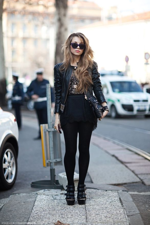 Edgy. spring-summer-fashion | Rock outfits | Pinterest