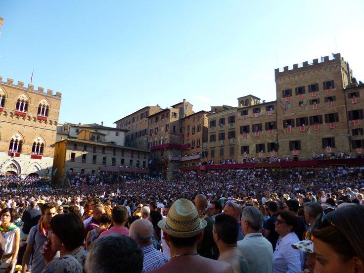 Palio Siena August 2013