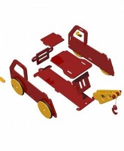 Wooden Tow Truck $119.95 #sweetcreations #kids #babies #toys #play #rideon #rocking