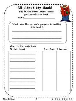 FREE! If you wish you had a few more generic worksheets that you could plug into any fiction or non-fiction book, this freebie preview pack could grant that wish for you!  FREE!